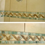 Dal Tile shower insert updates this shower