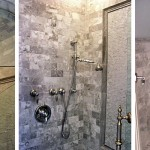 Carerra Marble installed to create a luxurious shower experience