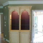 Custom Built Double Arch cabinet
