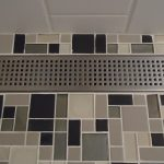 Dal Tile linear chrome shower drain
