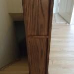 John's Creek custom wood railing