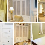 Painted master bedroom cabinets with drawers by Tom Scott